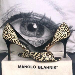 SOLD 👠SEXY MANOLO BLAHNIK PEEP-TOES